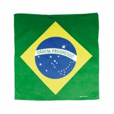 Supporters bandana brazilie