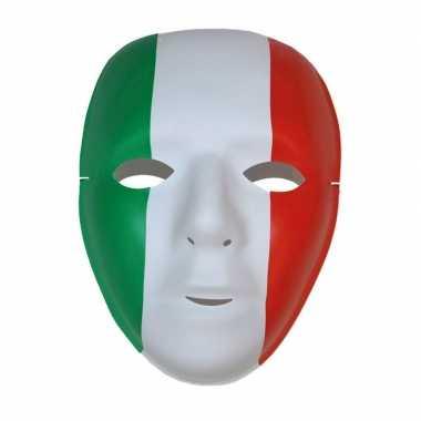 Supporters masker rood/groen/wit italie