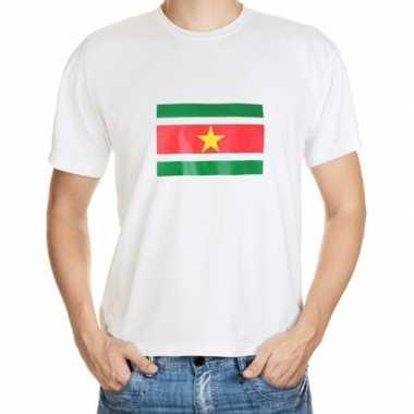Suriname vlaggen t-shirts