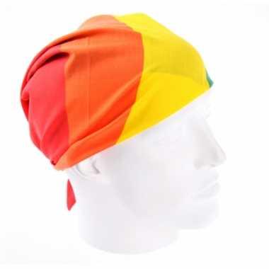 Vierkante regenboogvlag bandana
