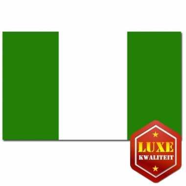 Vlaggen van nigeria 100x150 cm