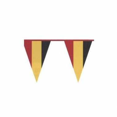 Vlaggenlijn in belgische kleuren