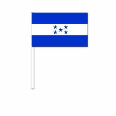 Zwaaivlaggetjes hondurese vlag