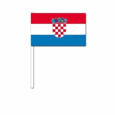 Zwaaivlaggetjes kroatische vlag