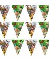 3x dieren verjaardag vlaggenlijn van 10 meter