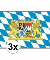3x landenvlaggen bayern bijeren