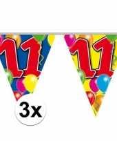3x leeftijd slinger 11 jaar