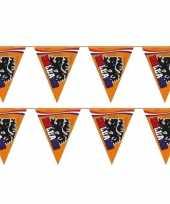 3x stuks grote oranje leeuw vlaggenlijnen 15 meter