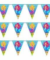 3x zeemeermin verjaardag vlaggenlijn 10 meter