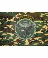 Airbourne camouflage vlaggen