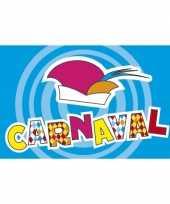 Feestvlag carnaval 90 x 150 cm