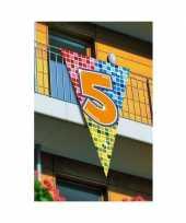 Mega vlag verjaardag 5 jaar