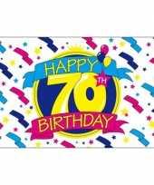 Verjaardagsvlag 70 jaar