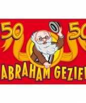 Vlag abraham 50 jaar